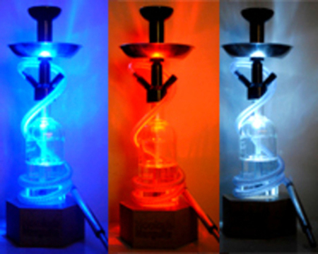 Base Luminosa Luz de LED - Hookah Narguile
